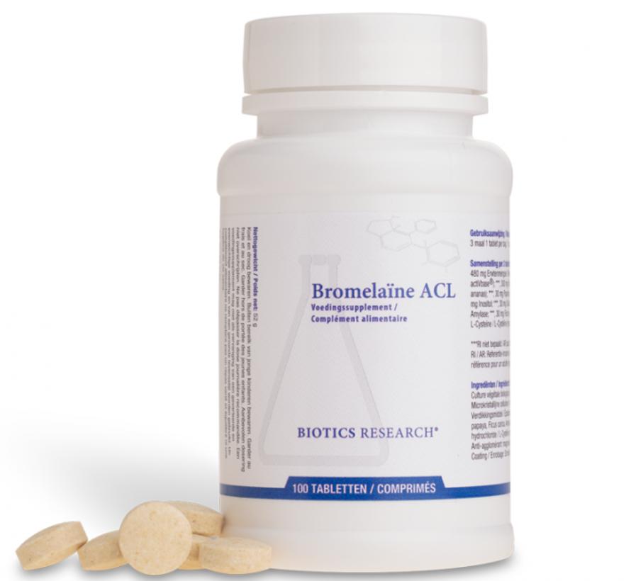 Biotics Research Bromelaïne ACL 100 tabletten