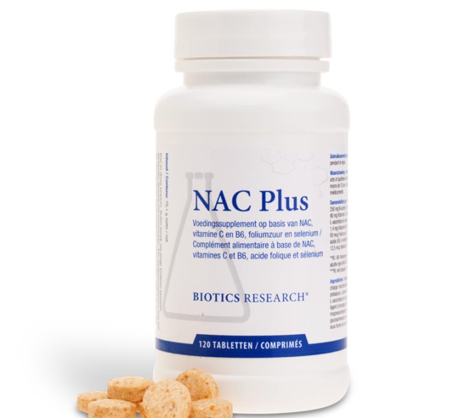 Biotics Research NAC Plus 120 tabletten