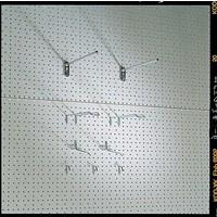 Legbordstelling Europerforatie achterwand - Ø 4,5mm