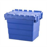Nestbare en stapelbare dekselkist 400x300x320mm - inhoud 28 liter