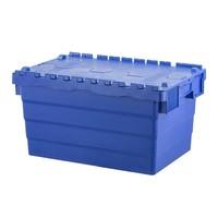 Nestbare en stapelbare dekselkist 600x400x320mm - inhoud 60 liter