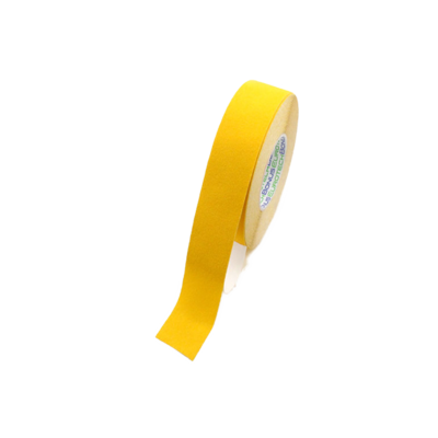 Anti-slip tape 25mm - geel