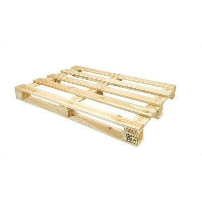 Eenmalige lichte houten pallet 1200x800x120mm