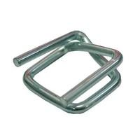 Metalen gespen, CB8, voor omsnoeringsband - 25mm