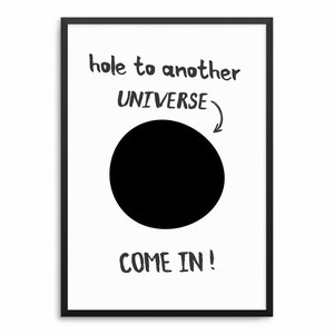 Hole To Another Universe Poster