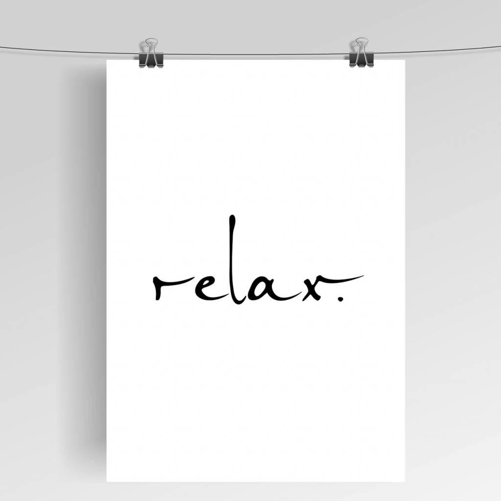 Lovely Bird Relax Poster
