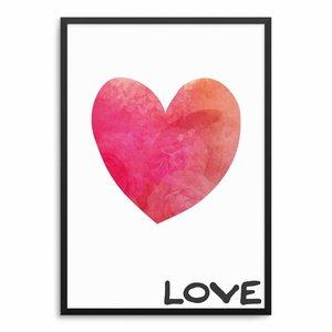 Love Herz Poster