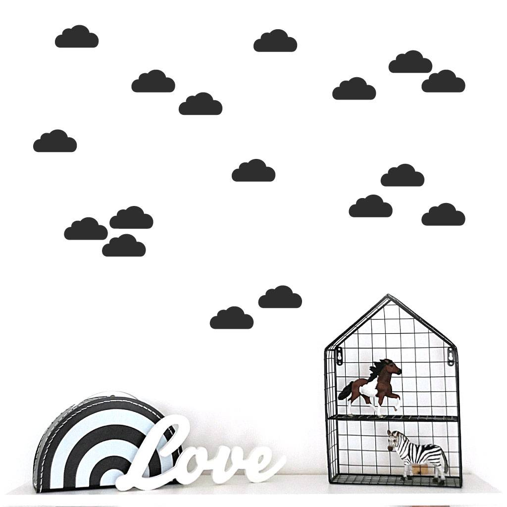 Lovely Bird Wandsticker Wolken No. 1
