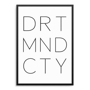 DORTMUND CITY Poster