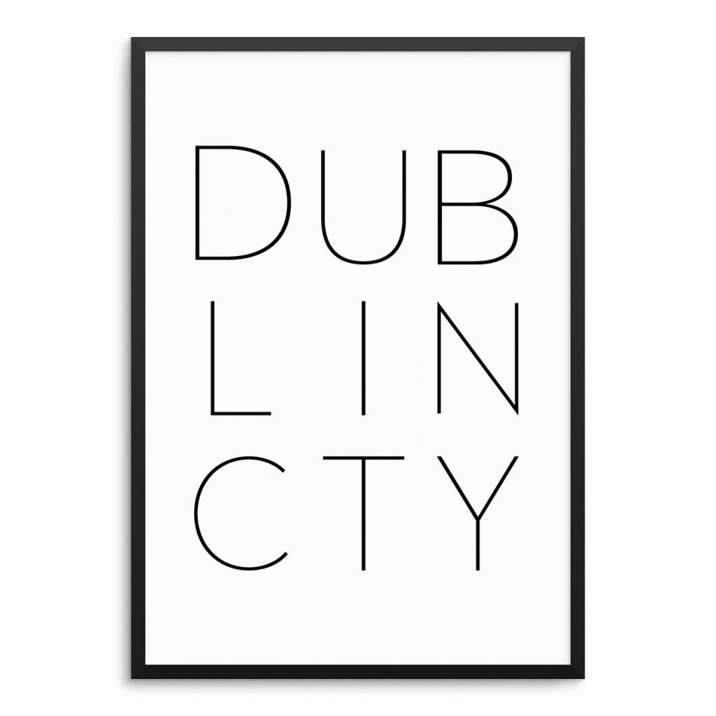 Lovely Bird DUBLIN CITY Poster