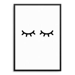 Sleepy Eyes Poster