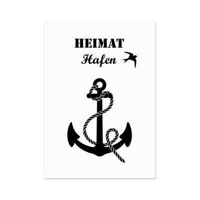 Heimathafen Postkarte
