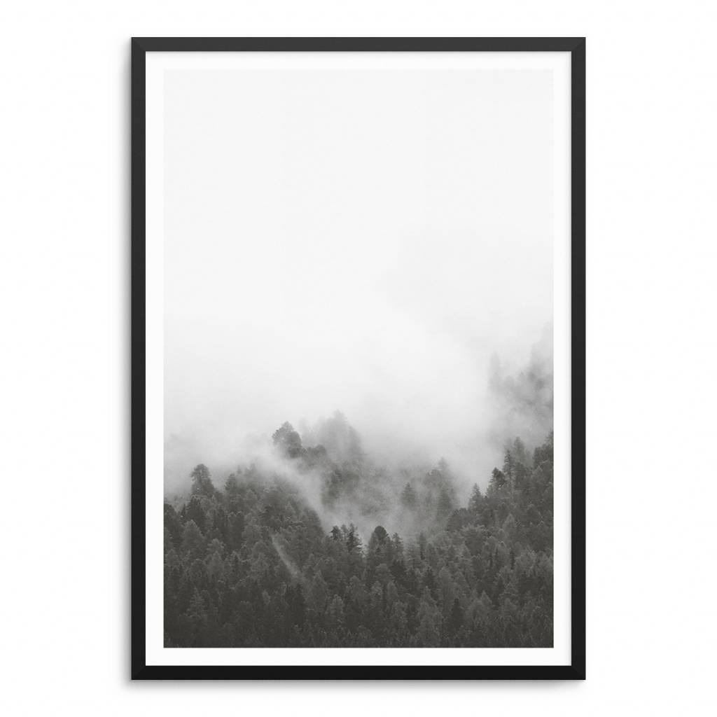 Lovely Bird Forest No. 4 Poster