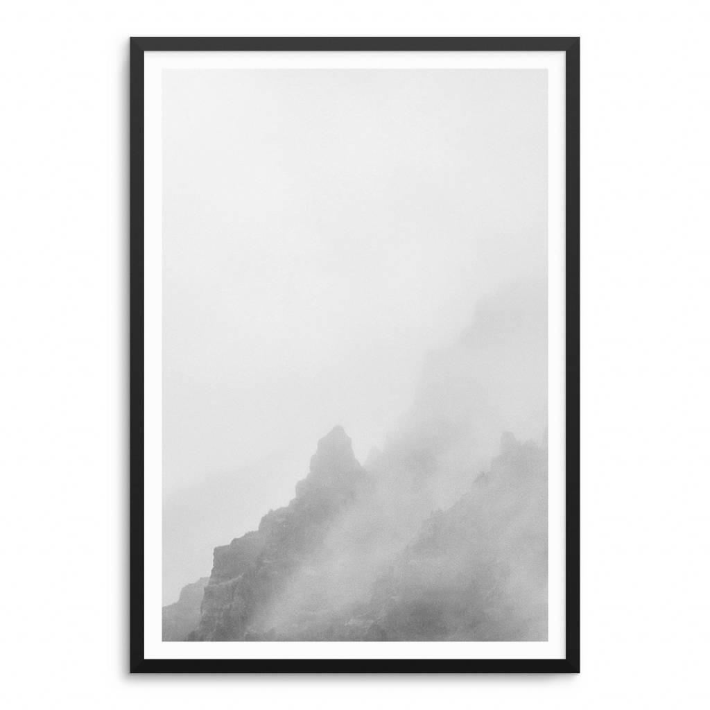 Lovely Bird Misty Mountain No. 2 Poster