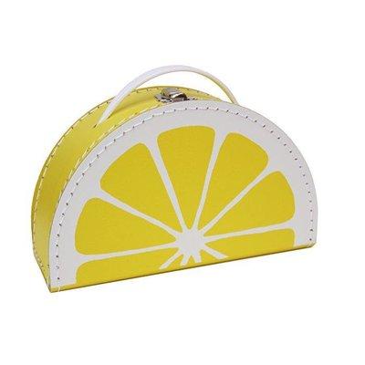 Koffer Zitrone