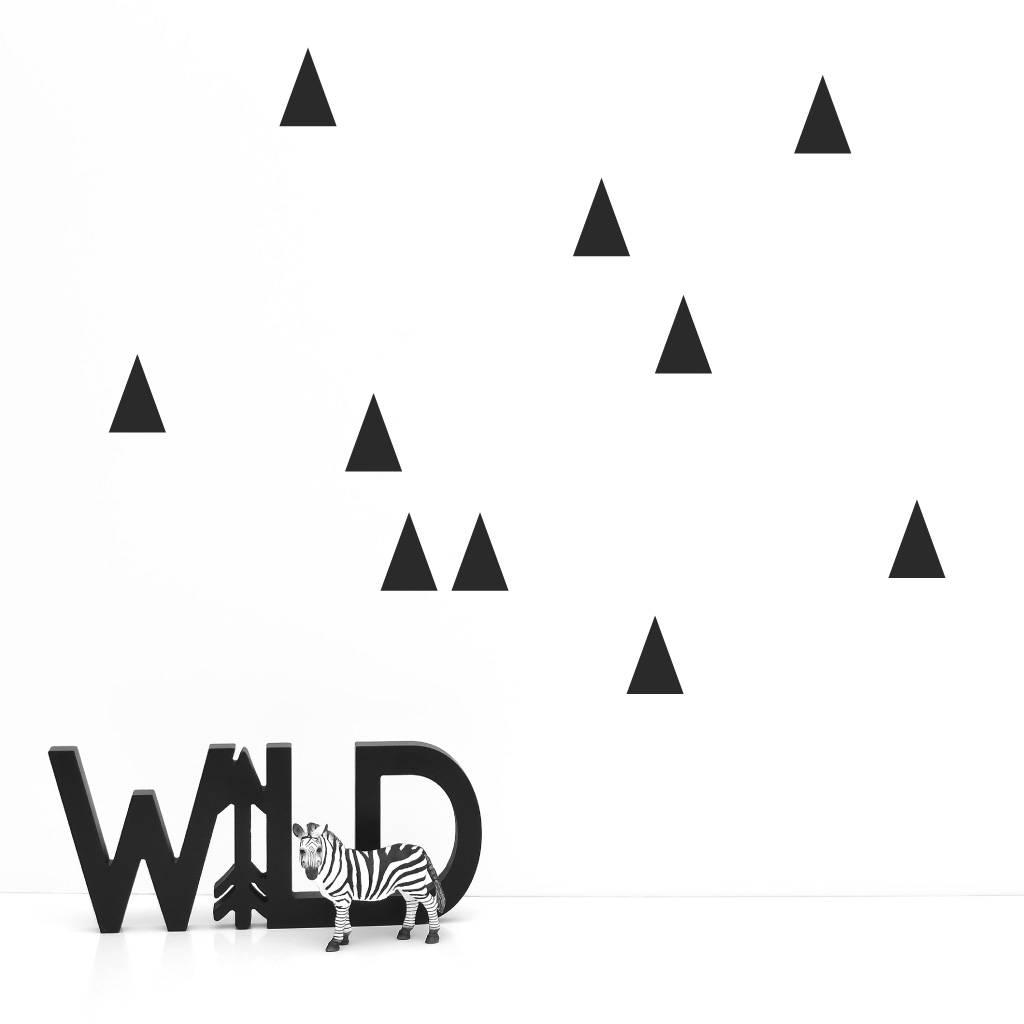 Lovely Bird Wandsticker Spitze Dreiecke