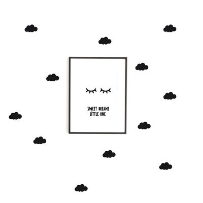 Wolken No. 2 Wandsticker