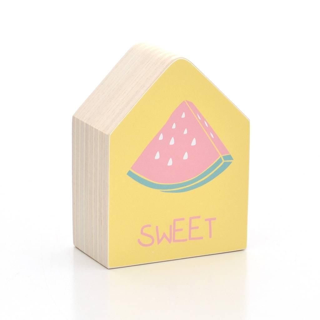 Dots Lifestyle Holzhaus Wassermelone