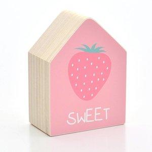 Holzhaus Erdbeere