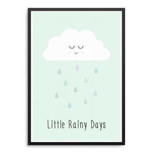 Little Rainy Days Poster