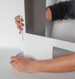 Spuckschutz | SpuckNo | schmal für niedrige Handauflage