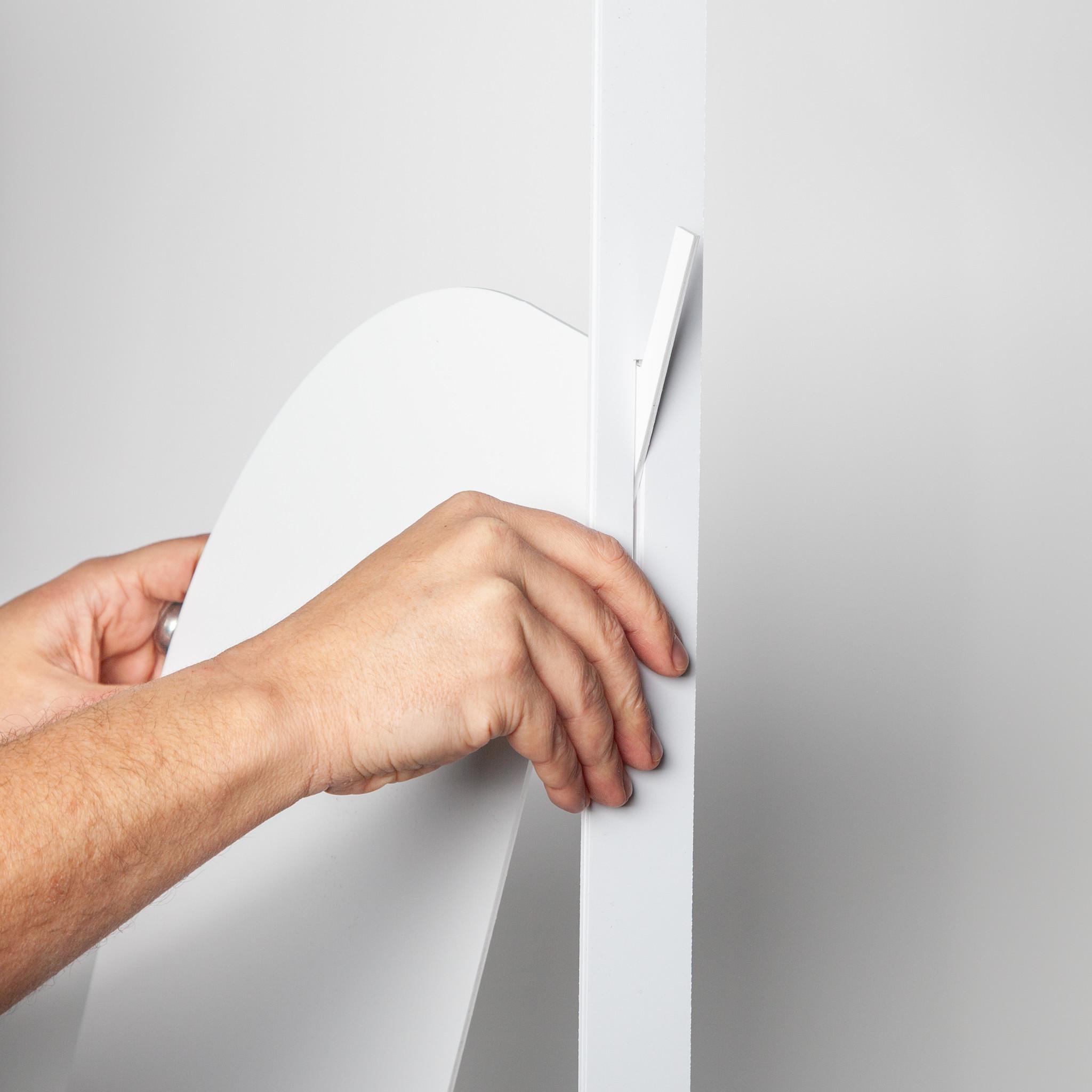 Spuckschutz | SpuckNo | standard für niedrige Handauflage