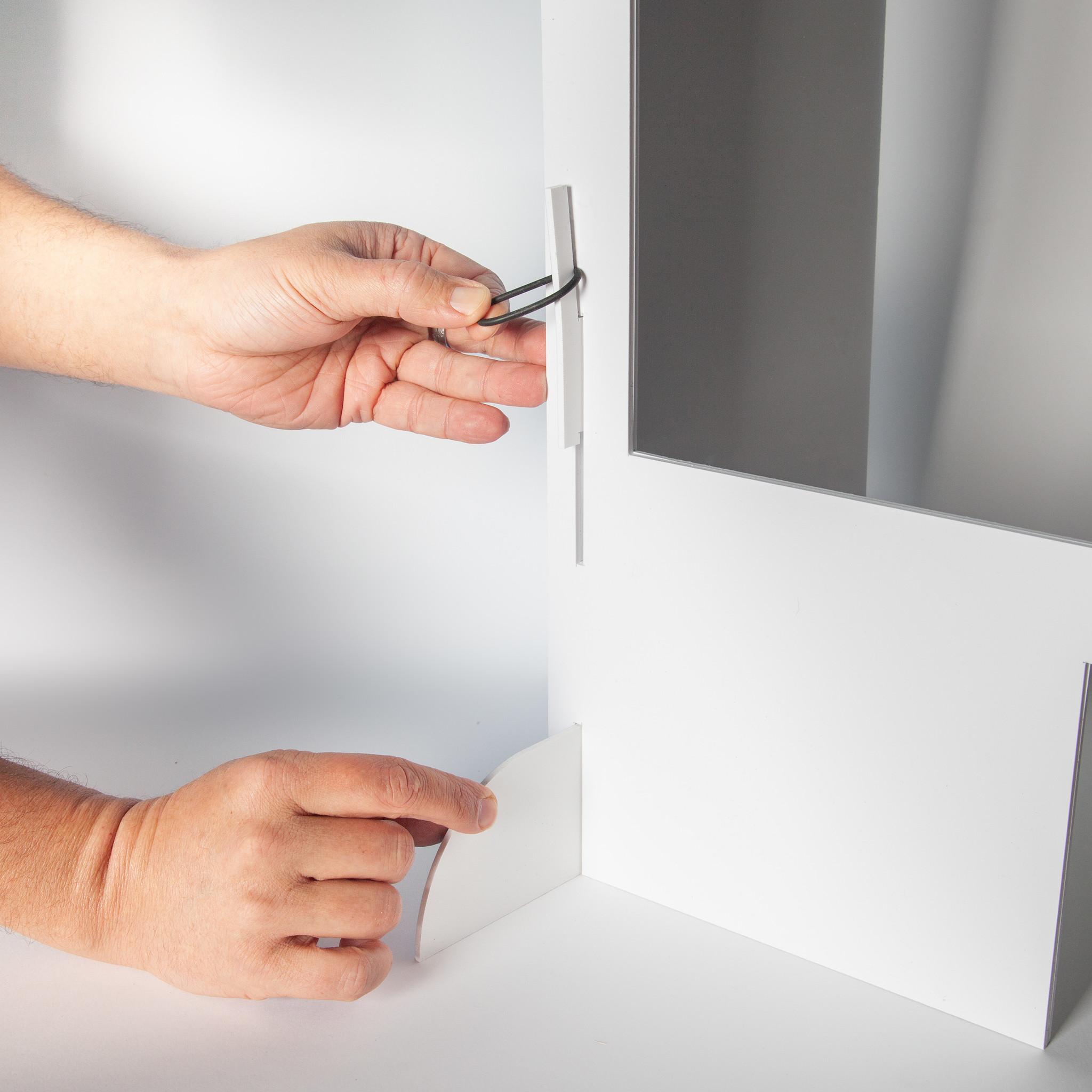 Spuckschutz | SpuckNo | schmal für hohe Handauflagen