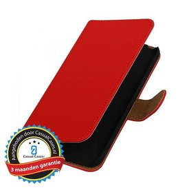 Bookwallet hoes LG G5 rood