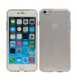 Softcase hoes iPhone 6(s) Plus transparant