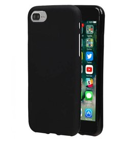 Softcase hoes iPhone 7 / 8 zwart