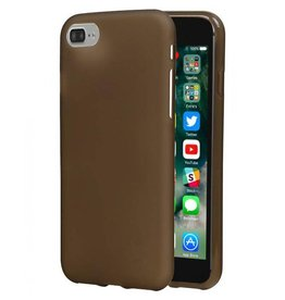 Softcase hoes iPhone 7 / 8 grijs