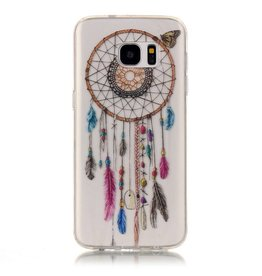 Softcase hoes dromenvanger Samsung Galaxy S7 Edge