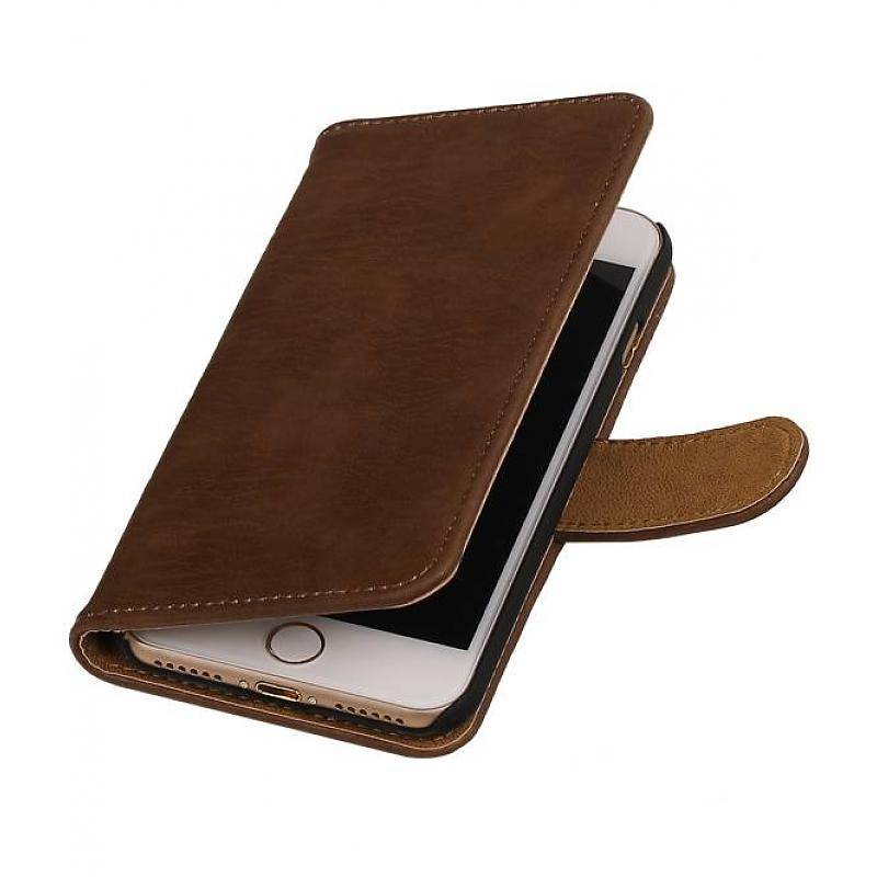 2e113787680 Bookwallet bark bruin hoes iPhone 7 / 8 | CasualCases.nl ...