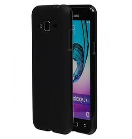 Softcase hoes Samsung Galaxy S6 Edge zwart
