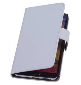 Bookwallet hoes Samsung Galaxy Note 3 wit