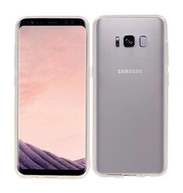 Softcase hoes Samsung Galaxy S8 transparant