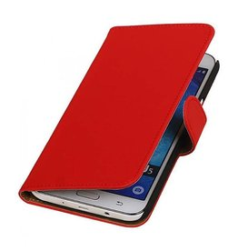 Bookwallet hoes Samsung Galaxy J5 rood