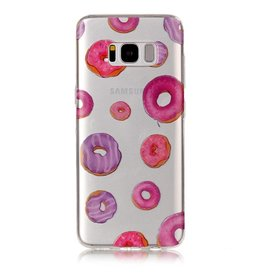 Softcase hoes donuts Samsung Galaxy S8 Plus