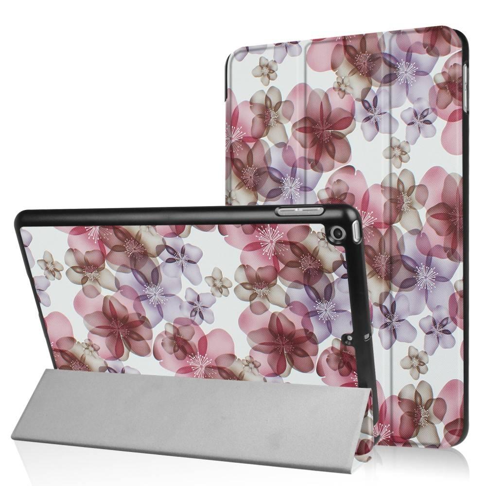 3-Vouw bloesem stand flip hoes iPad 9.7 (2017/2018)