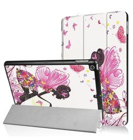 Lunso 3-Vouw fee stand flip hoes iPad 9.7 (2017/2018)