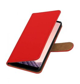 Bookwallet hoes Samsung Galaxy S8 rood