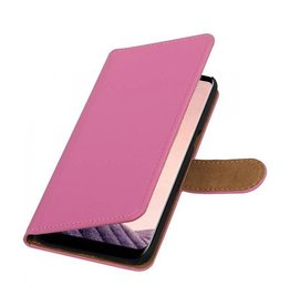 Bookwallet hoes Samsung Galaxy S8 Plus roze