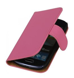 Bookwallet hoes Samsung Galaxy S3 Mini roze