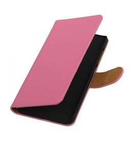 Bookwallet hoes HTC One A9 roze