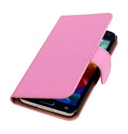 Bookwallet hoes Samsung Galaxy S2 roze