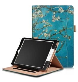 Lunso Stand flip amandelboom hoes iPad 9.7 (2017/2018) / Air / Air 2
