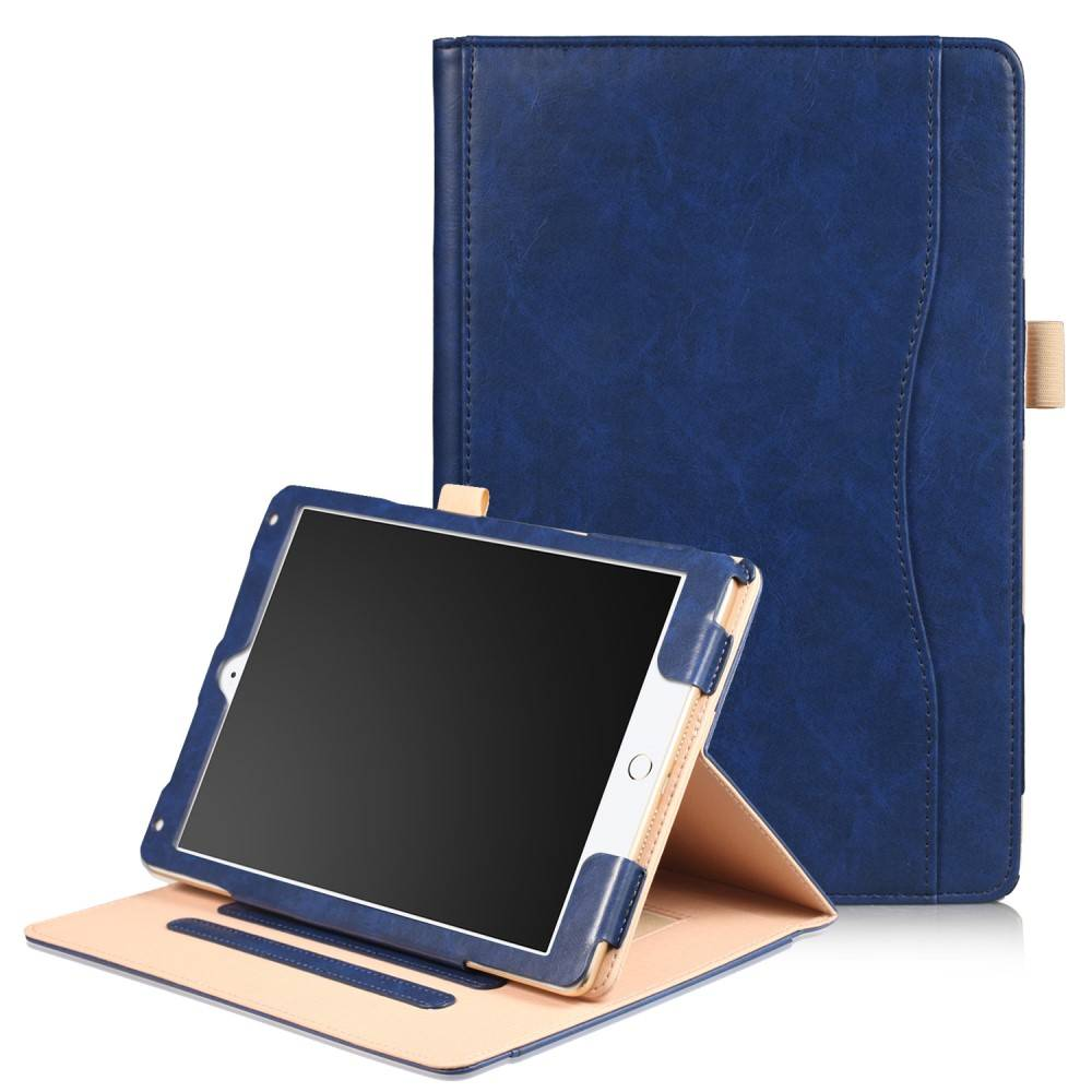 Luxe stand flip hoes iPad 9.7 (2017/2018) / Air / Air 2 blauw