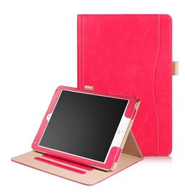 Lunso Luxe stand flip hoes iPad 9.7 (2017/2018) / Air / Air 2 roze