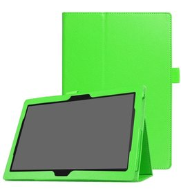 Lunso Stand flip hoes Lenovo Tab 4 10 Plus / Tab 4 10 groen