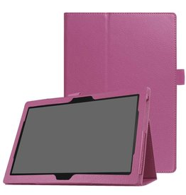 Stand flip hoes Lenovo Tab 4 10 Plus / Tab 4 10 paars